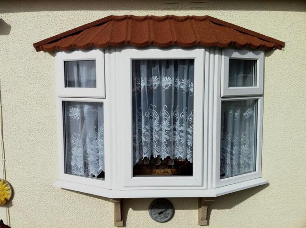 Park Home Refurbishment Lightweight Metal Tiled Roofing